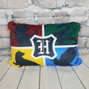 Harry Potter Hogwarts Plush Pillow House Crests 14 x 10 x 5